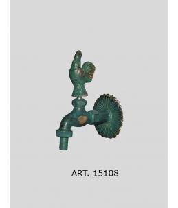 Zahradní ventil - motiv kohout