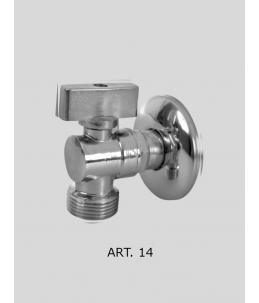 Pračkový kulový ventil