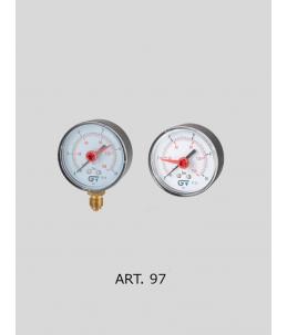 Manometr k redukčnímu ventilu