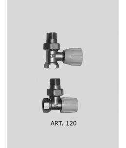 Radiátorový ventil přímý +...
